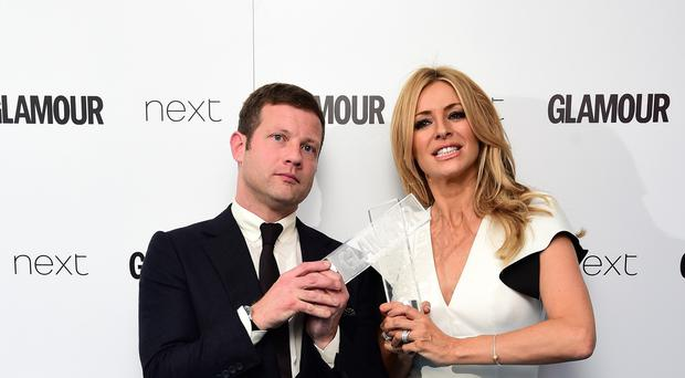 Tess Daly will not be watching Dermot O'Leary on the Strictly dancefloor