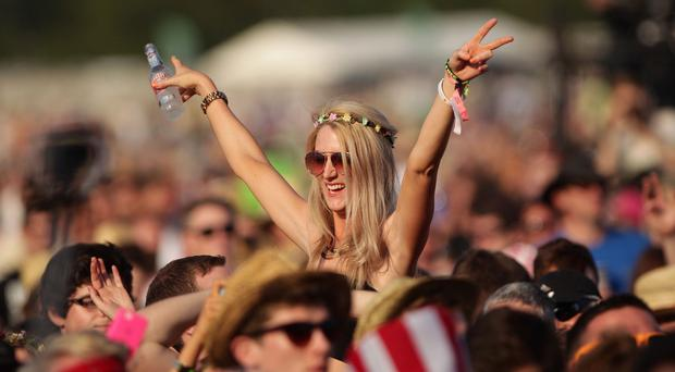 Thousands of music fans are heading to the first festival of the summer, on the Isle of Wight