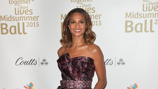 Alesha Dixon is determined to keep her daughter's feet on the ground
