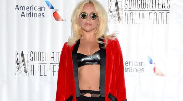 Lady Gaga attends the 46th Annual Songwriters Hall 0f Fame Induction and Awards Gala