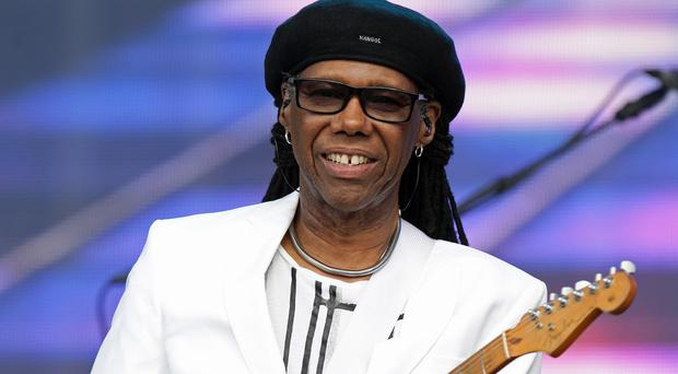 Nile Rodgers of Chic went busking undercover on London's Southbank