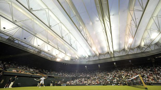 Forecasters expect the roof will not need to be deployed much at Wimbledon
