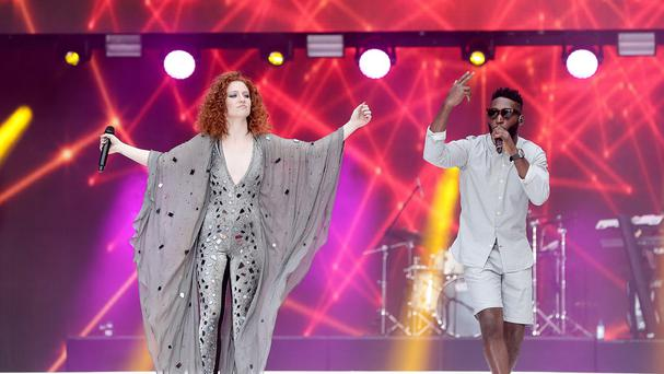 Tinie Tempah and Jess Glynne are at number one with Not Letting Go