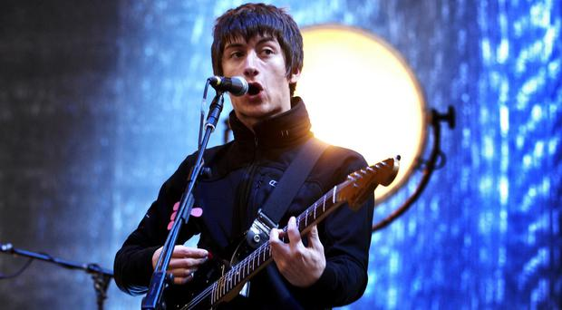 The Arctic Monkeys have won the O2 Silver Clef Award for best live act