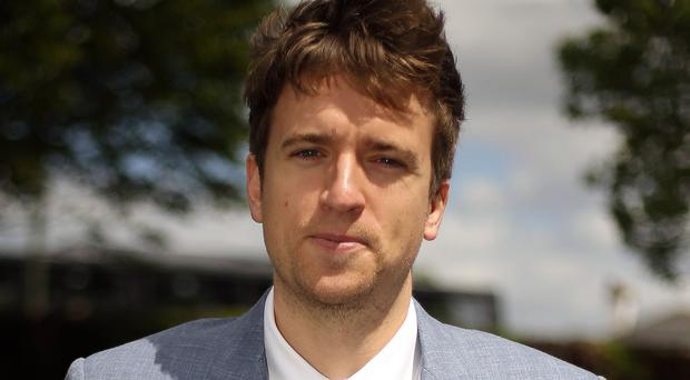 Greg James will present the chart show on Fridays on Radio 1