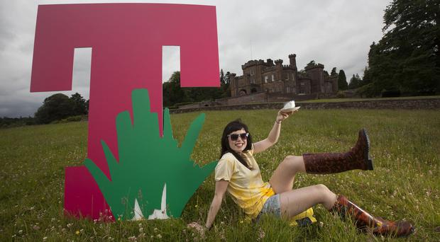 T in the Park is this year being staged on the Strathallan Castle estate in Perthshire (T in the Park/PA Wire)