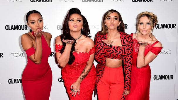 Little Mix are hoping to hit the charts on its first worldwide release day