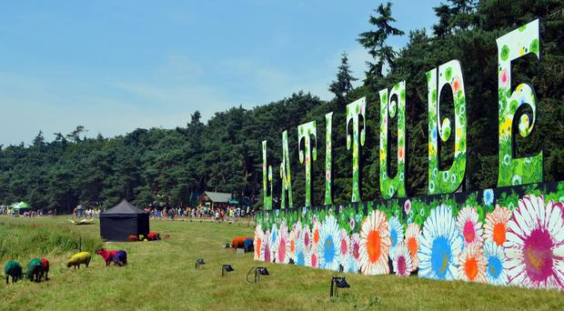 The Latitude festival takes place at Henham Park in Suffolk