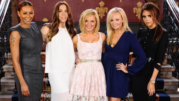 The Spice Girls remain firm friends