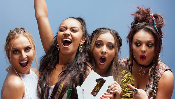 Little Mix are spending their third week at the top of the charts with their track Black Magic
