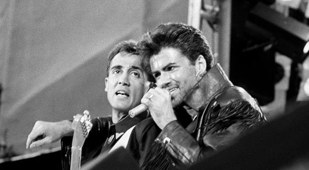 Wham!, with Andrew Ridgeley and George Michael, were one of the bands managed by Jazz Summers