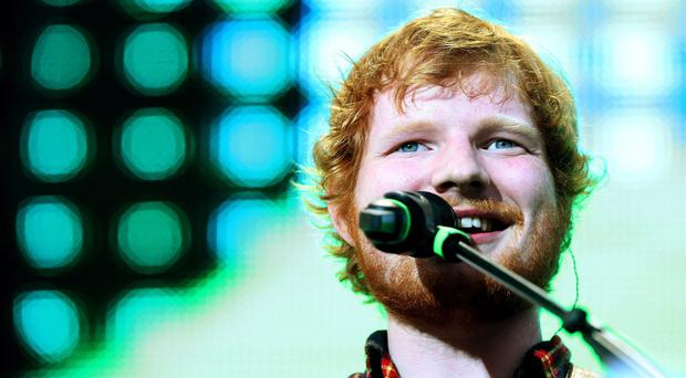 Ed Sheeran in concert at Croke Park, Dublin