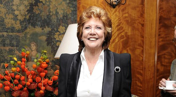 The late Cilla Black has finally topped the album charts