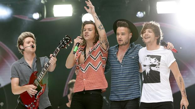 Niall Horan, Harry Styles, Liam Payne and Louis Tomlinson of One Direction.