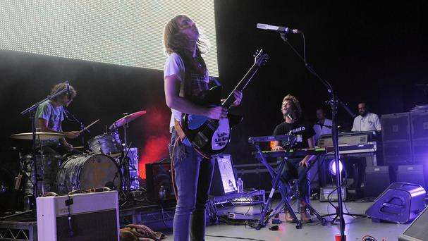 Tame Impala's album Currents has topped the first ever Progressive Albums Chart. (AP)