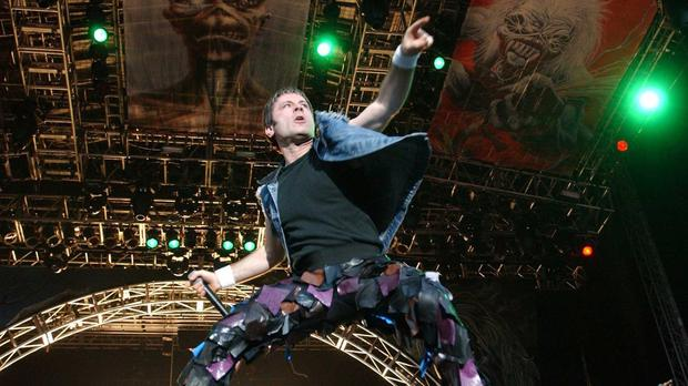 Iron Maiden are back at the top of the album chart after a five-year absence