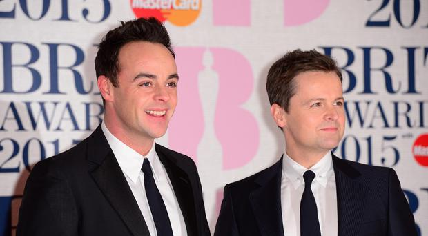 Ant and Dec will host the Brits again