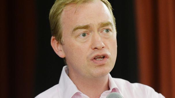 Tim Farron played in several bands in his youth