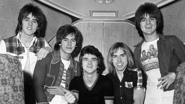 The Bay City Rollers at the height of their fame