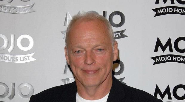David Gilmour has scored a number one solo album