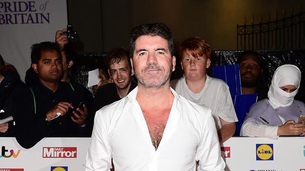 Simon Cowell paid a visit to The Brit School