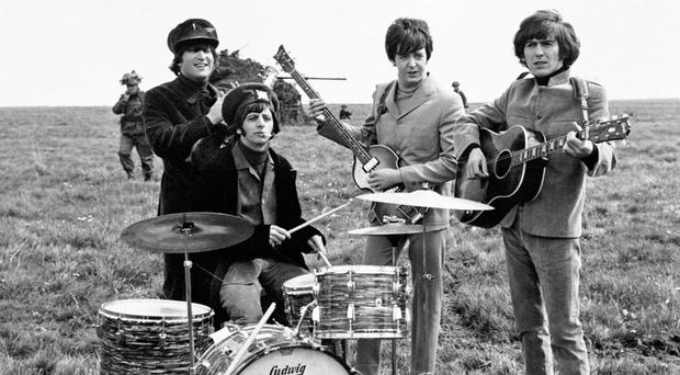 The Beatles were a popular beat combo
