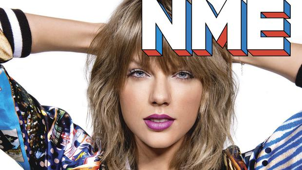 Taylor Swift told NME magazine that she relies on phone calls to her mother to keep her anxiety under control
