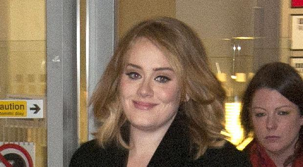 Adele is back on top of the charts