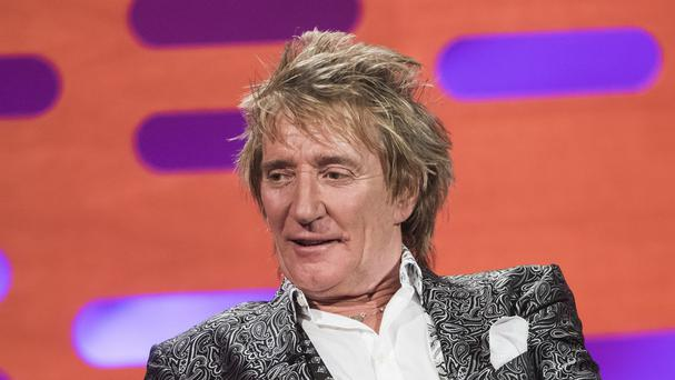 Rod Stewart has made no secret of his passion for model rail