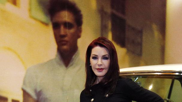 Priscilla Presley hailed the latest chart exploit of her late ex-husband Elvis