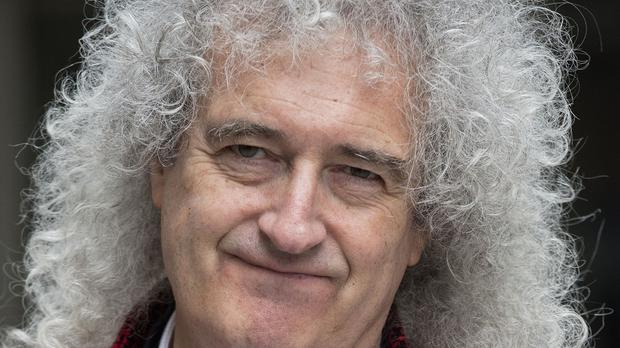 Brian May picked up the Living Legends award for Queen