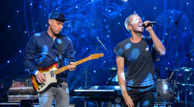 Coldplay performed in an intimate church gig for fans in East London