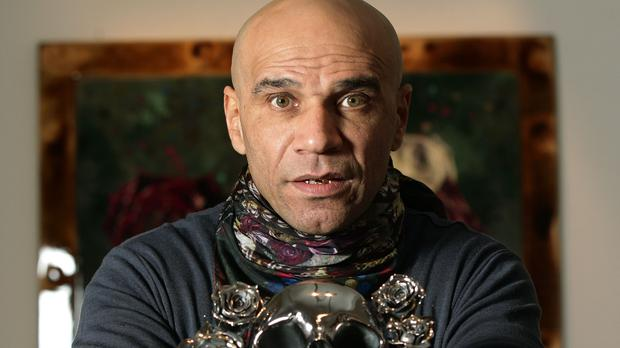Goldie has been honoured for his music work