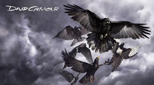 The album cover for David Gilmour's Rattle That Lock (Memory Box/PA)