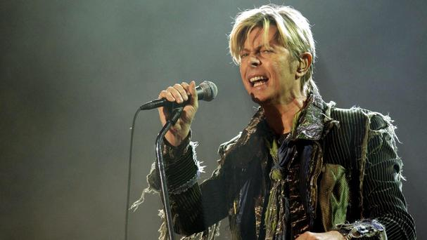 David Bowie released his Blackstar album on his 69th birthday