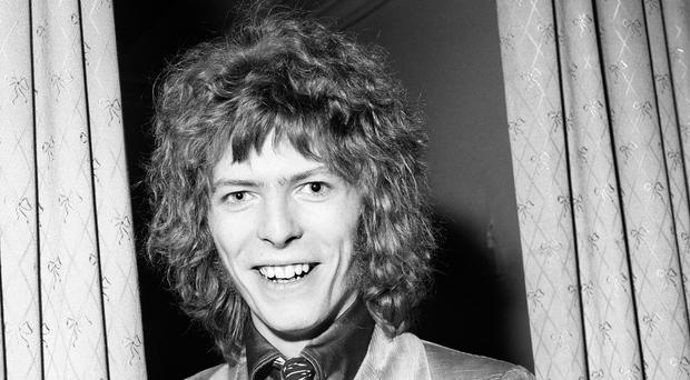 David Bowie in 1970