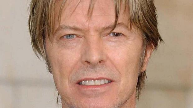 Bowie pictured in 2002, shortly before he suffered a heart attack after a concert in Germany