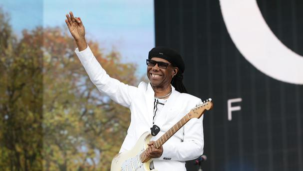 Nile Rodgers spoke of his friendship with the late David Bowie