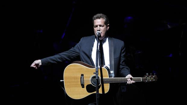Eagles singer-songwriter Glenn Frey, who has died aged 67 (AP)