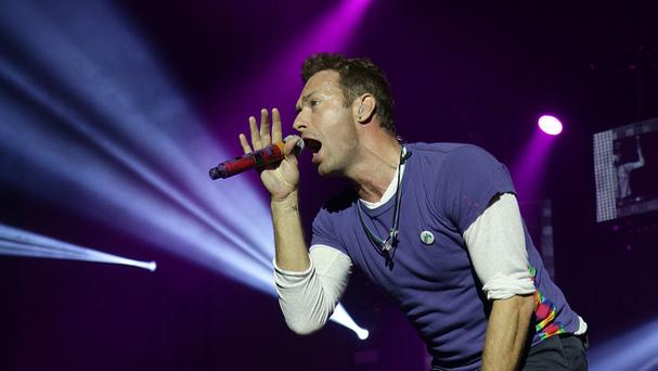 Coldplay will pick up a Godlike Genius gong at the NME Awards with Austin, Texas