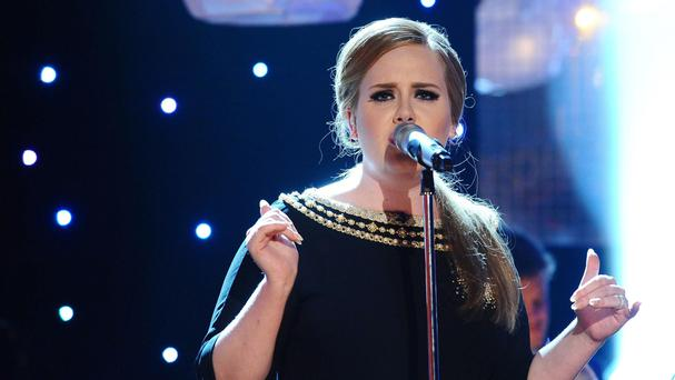 Adele is nominated for British female solo artist at the Brit Awards