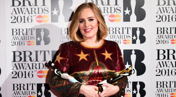 Adele won Brit Awards for Best British Female, Best British Album, Best British Single and Global Success