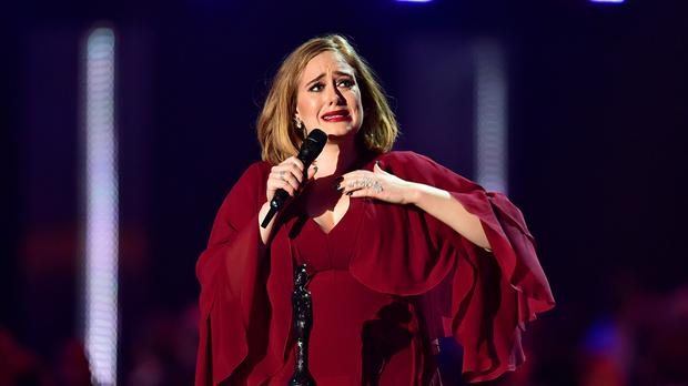 Adele has visited Titanic Belfast ahead of her Belfast shows on Monday and Tuesday.
