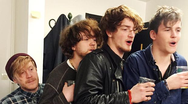 All four members of Viola Beach and their manager were killed in the accident (Picture @jholsson)