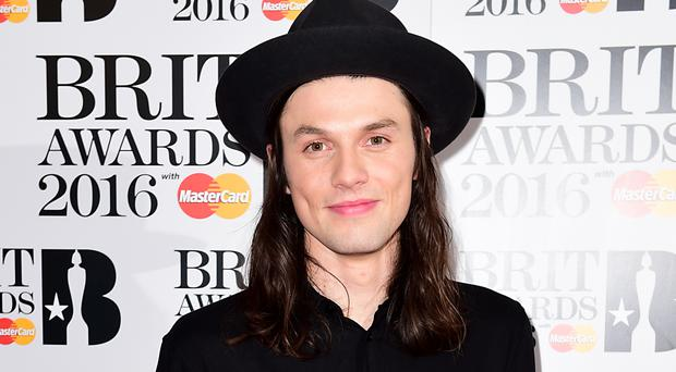James Bay played music at London HIV charity Body & Soul