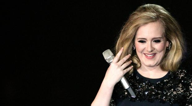 Adele has returned to the top of the album chart