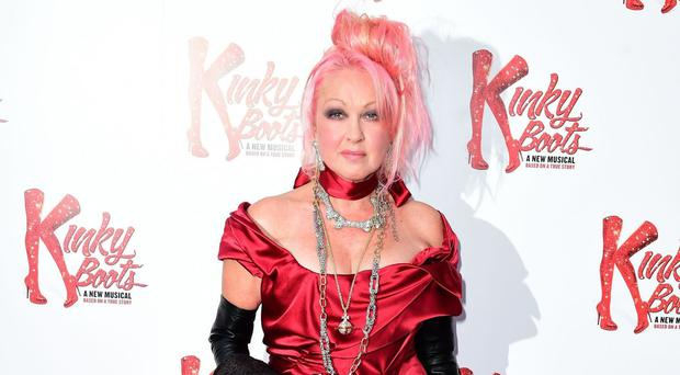 Cyndi Lauper is to take to the stage at the Olivier Awards