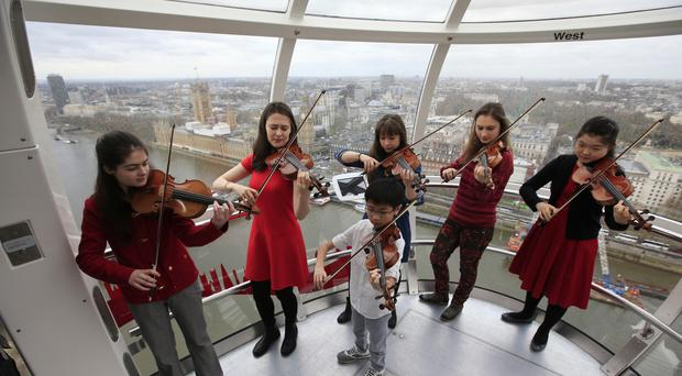 Some of the world's young violin prodigies are vying for victory in the Menuhin Competition