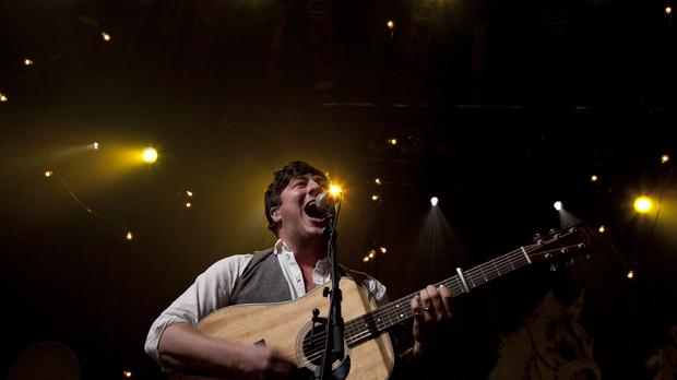 Marcus Mumford will strut his stuff on the Main Stage on Saturday