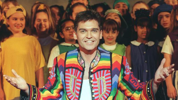 Phillip Schofield pictured during his stint in Joseph And The Amazing Technicolour Dreamcoat